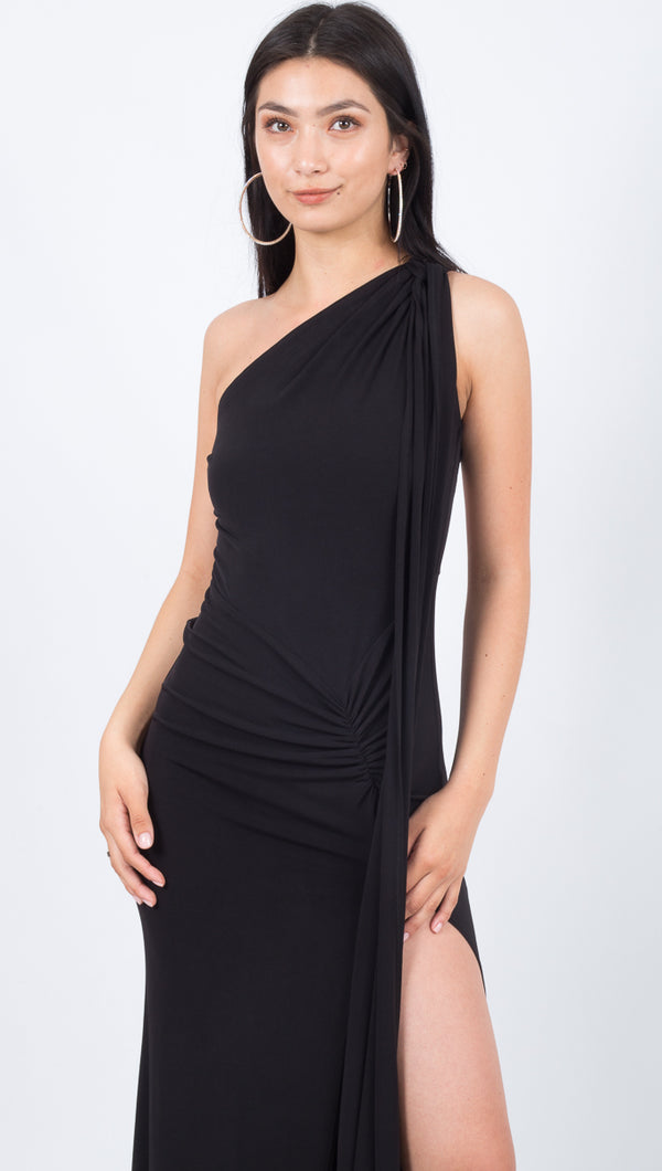 Attention Seeker Dress - Black