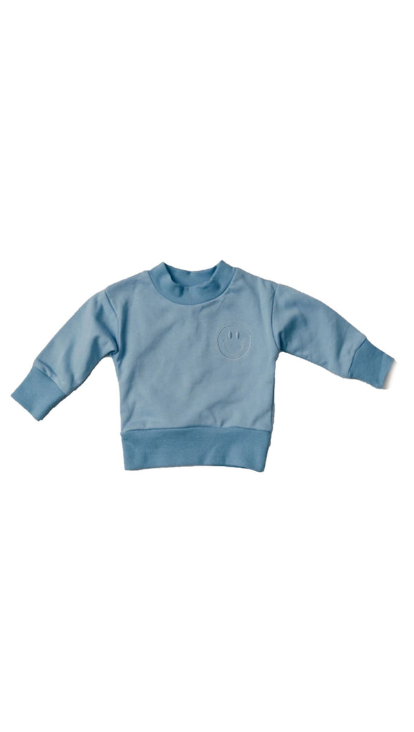 Light Sweatshirt - Cerulean