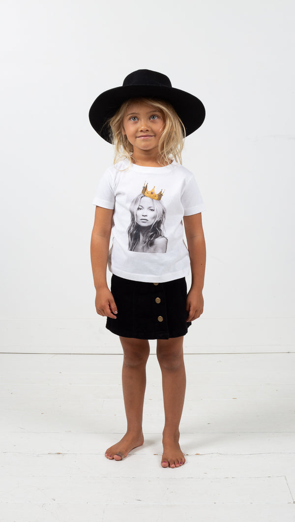 Icons: Kate Moss Tee - White
