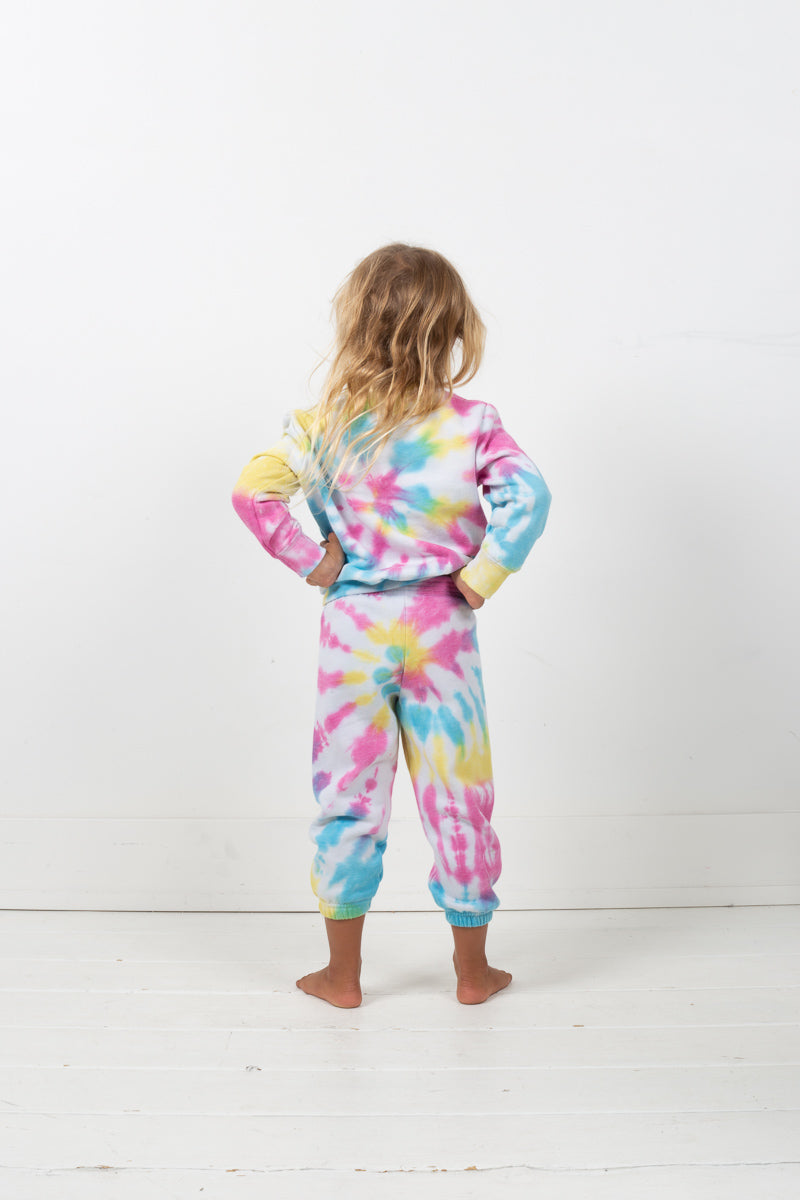 Hand Tie-Dyed Sweatpants - Multi
