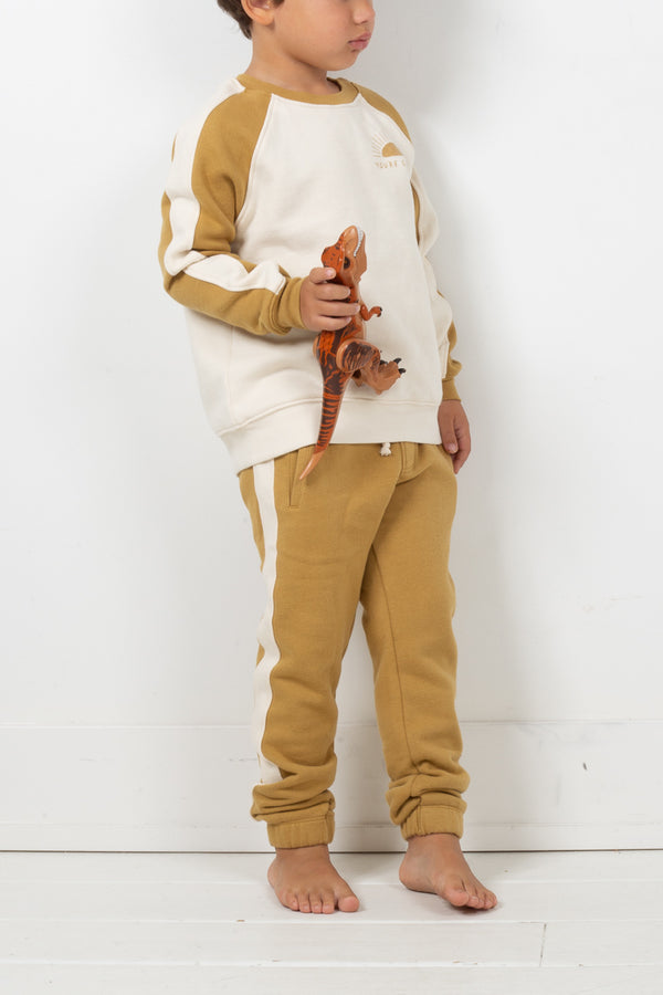 Jogger Pant - Brushed Fleece/Golden Rod