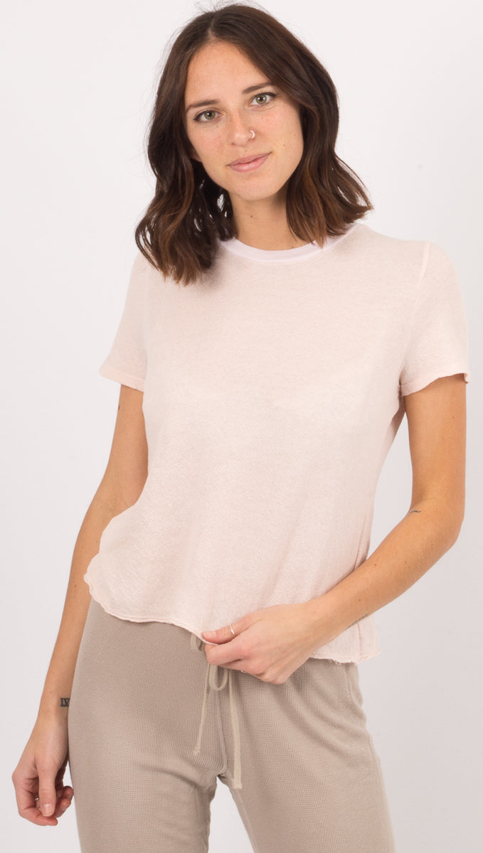 Lacausa Light Pink Tee