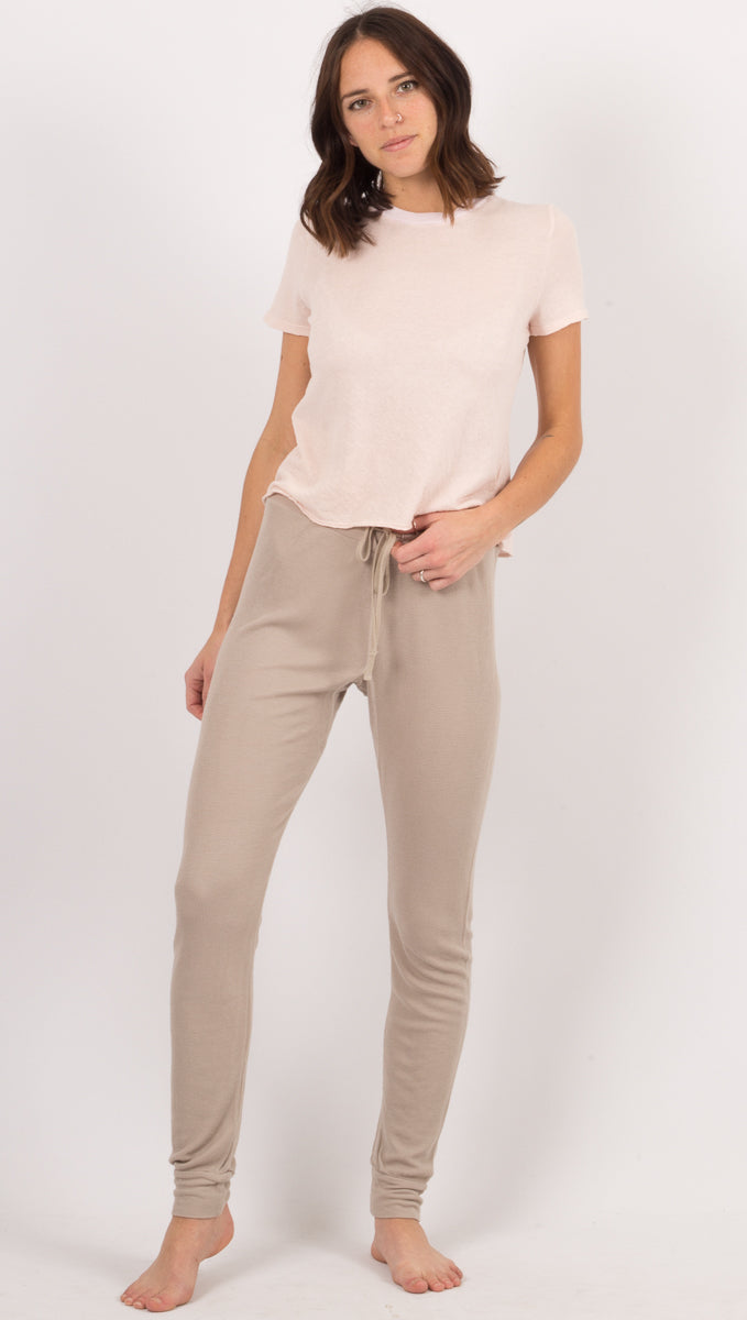 Lacausa Beige Sweatpants