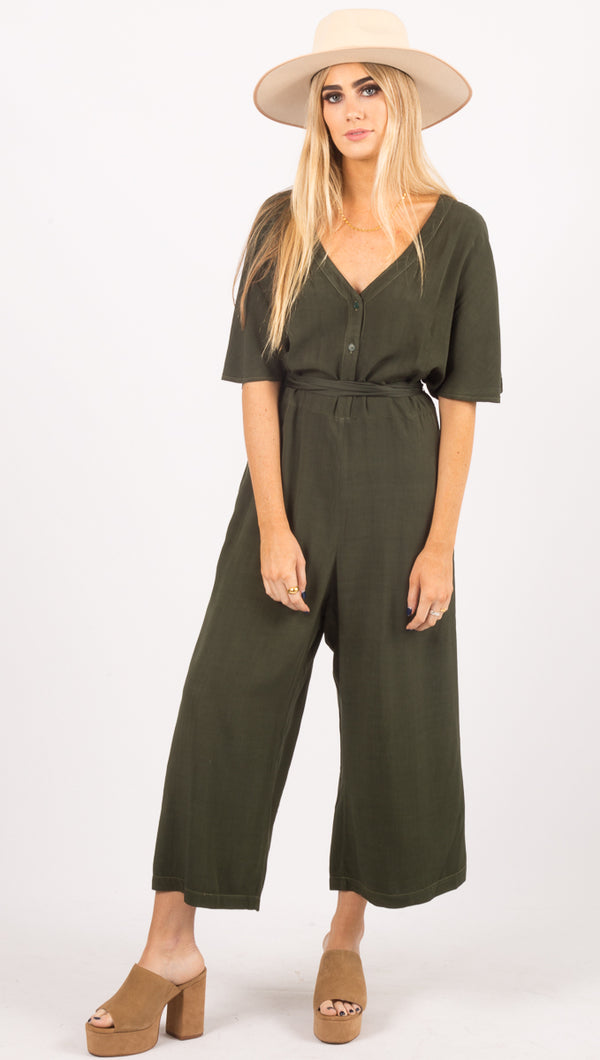 Ingrid Jumpsuit - Cypress