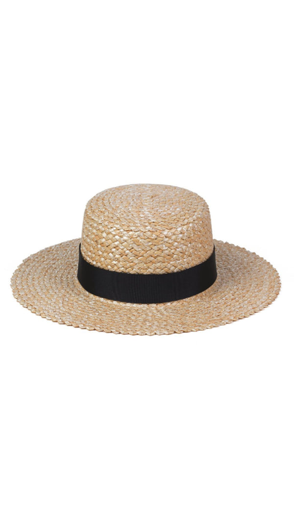 Rico Straw Boater - Natural