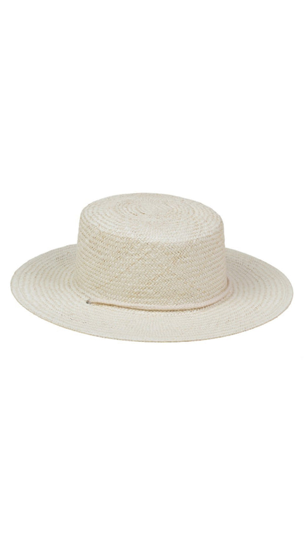 Lack Of Color Off White Straw Boater