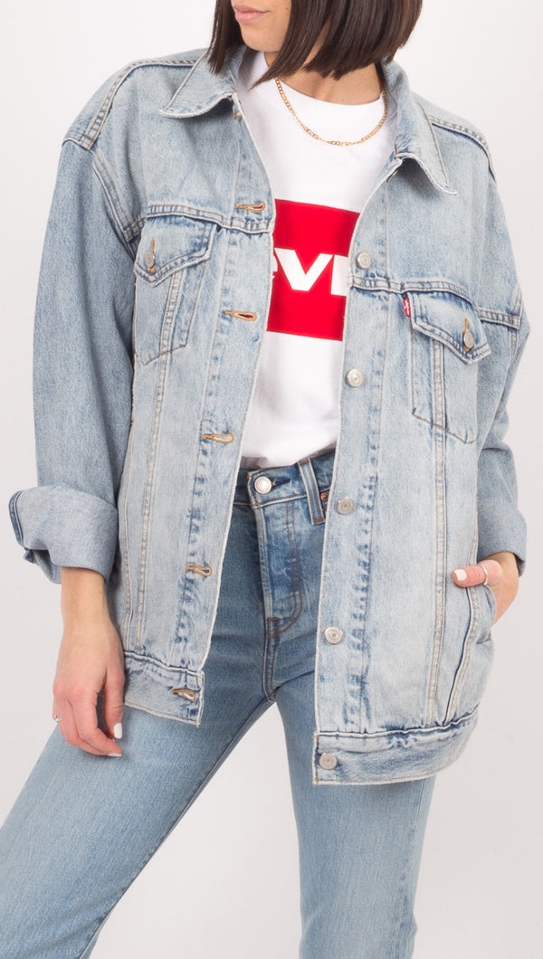 Levi's Oversized Baggy Denim Jacket
