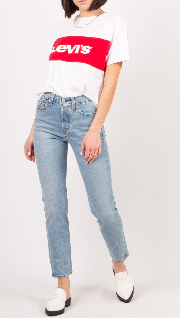 Levi's Light Wash High Rise Jeans