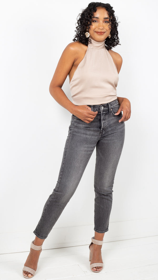 Wedgie Icon Fit Jeans - Better Weathered