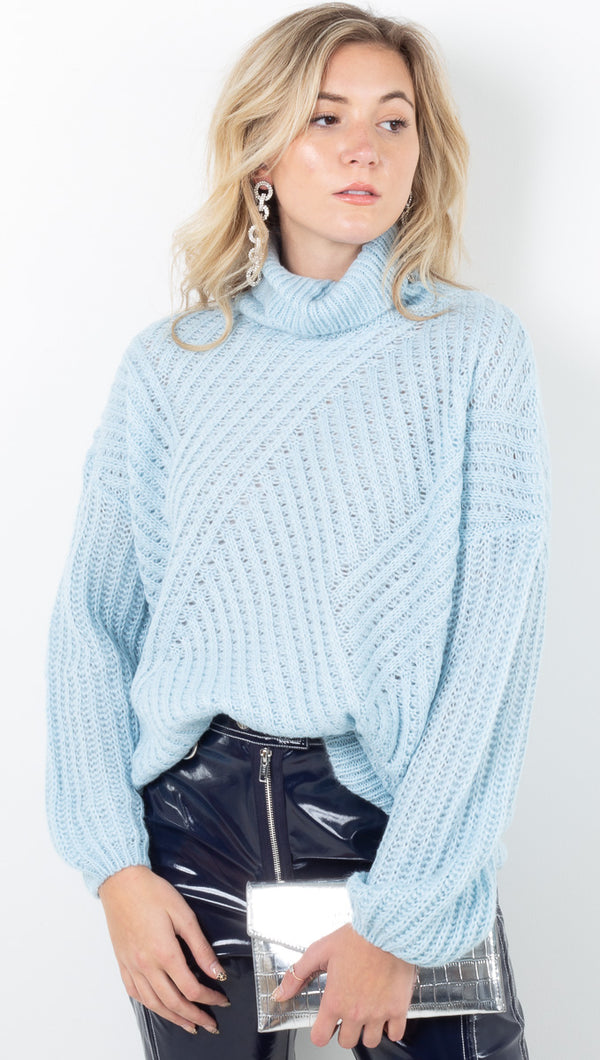 Bea Sweater - Sky Blue