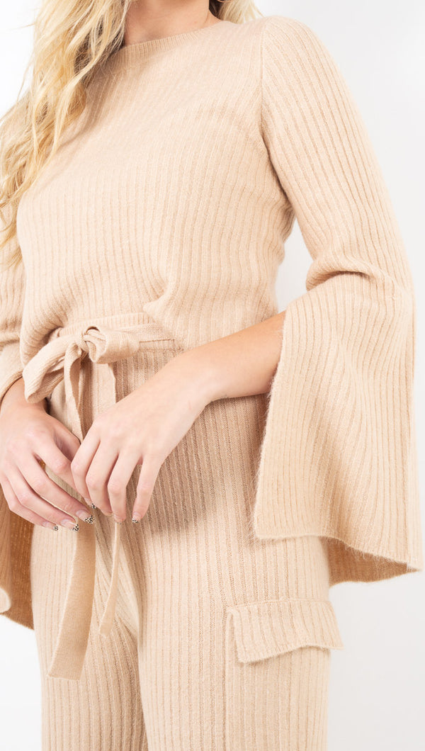 Ryder Sweater - Taupe