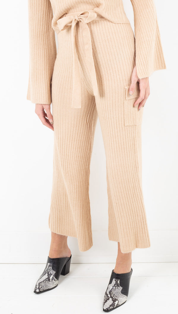 Ryder Sweater Pant - Taupe