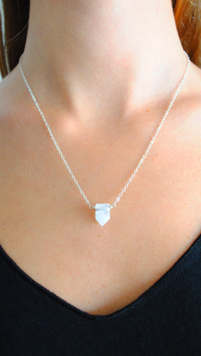 Emily Necklace - Silver