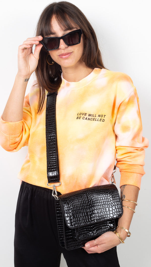 Love Will Not Be Cancelled Sweatshirt - Creamsicle