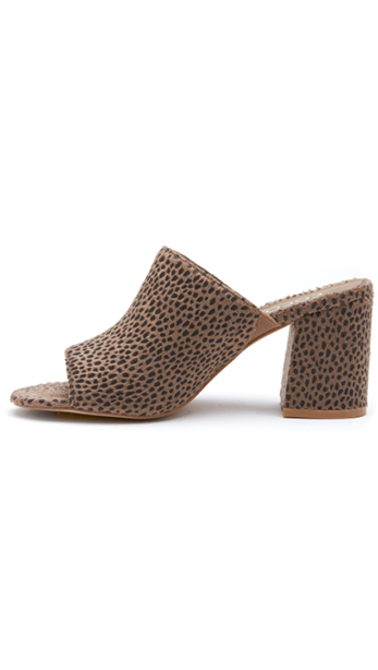Higher Ground - Taupe Leopard