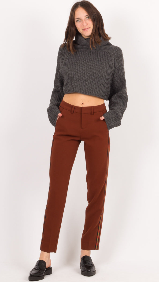 MKT Studio Dark Red Pants