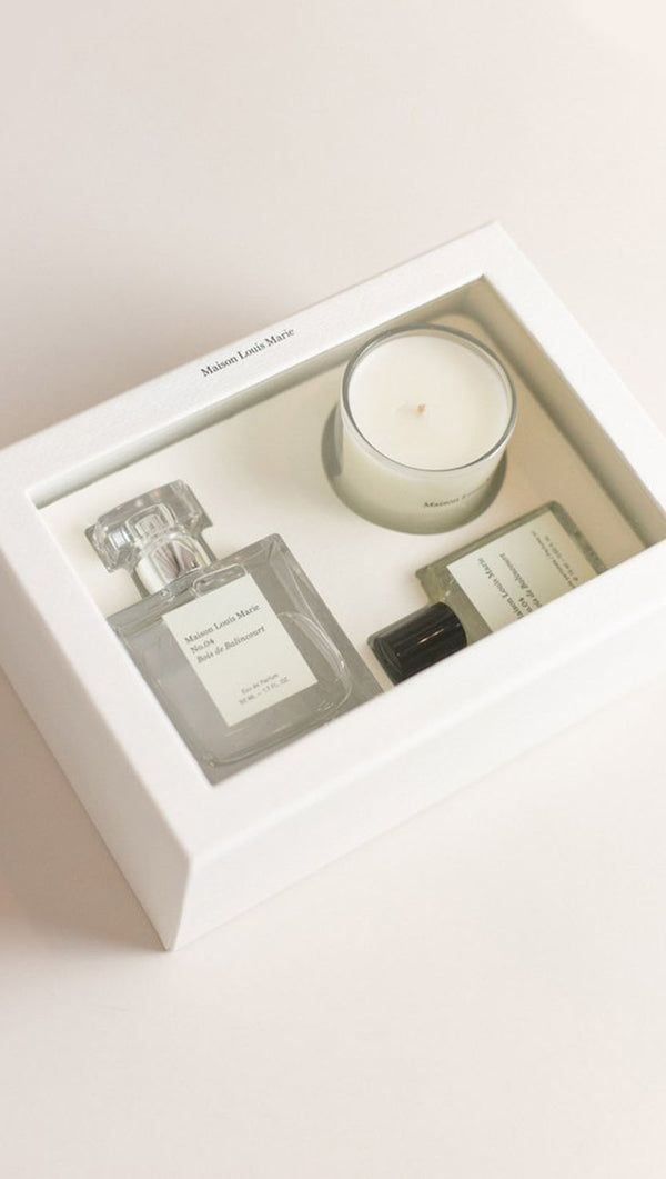 Luxury Gift Set - No. 04 Bois De Balincourt