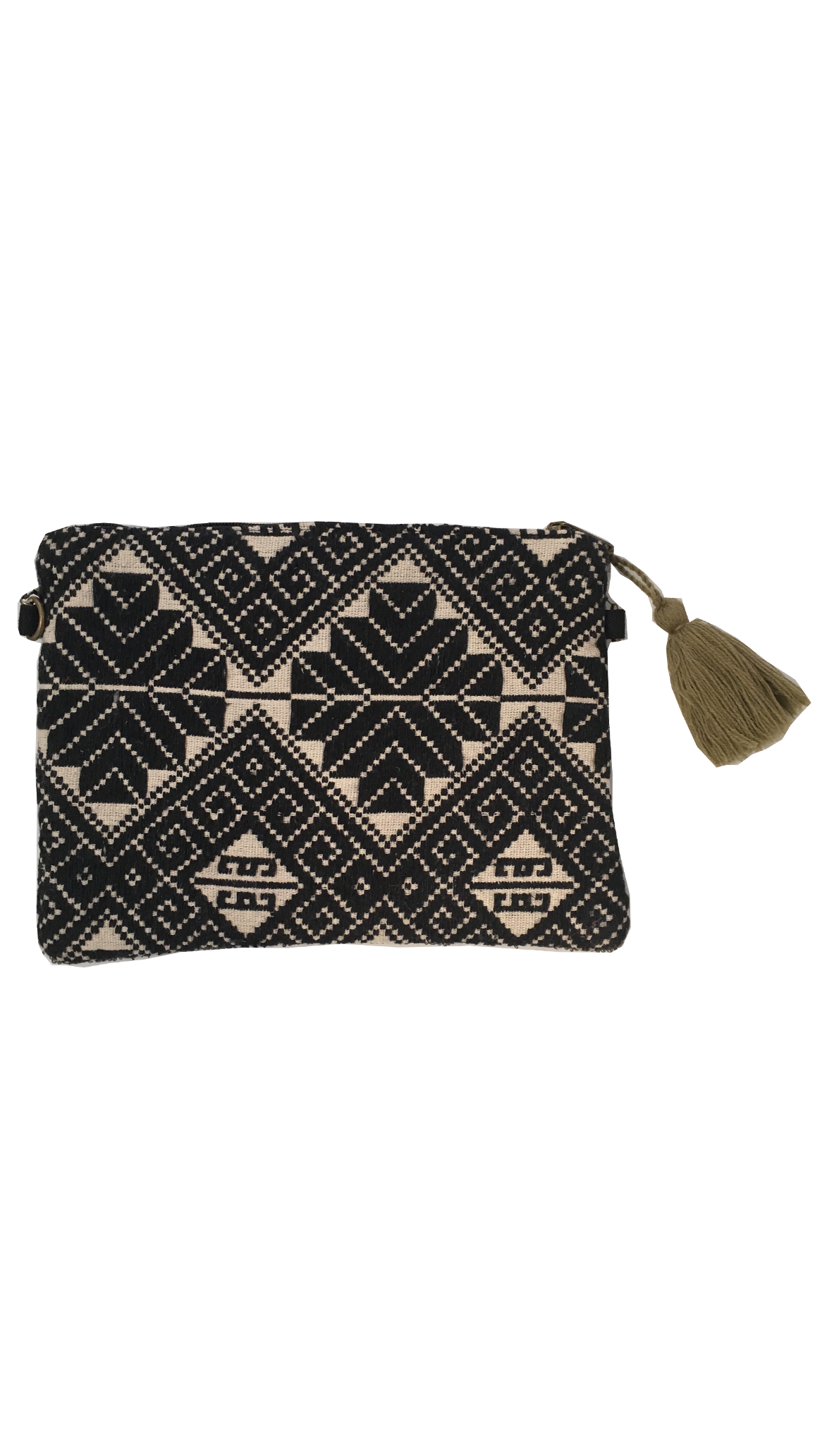 Moonlight Beach Clutch - Black