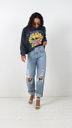 agolde major 90s mid rise loose fit