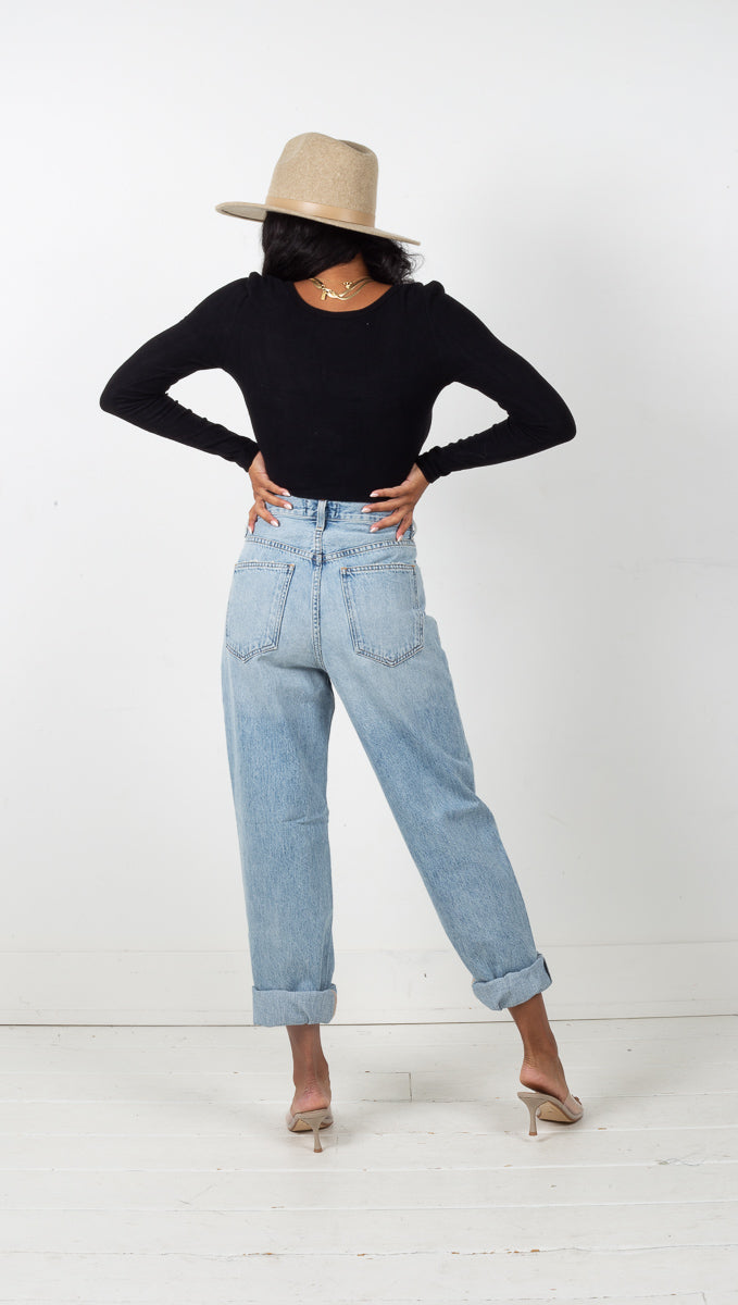Criss Cross Upsized Jeans - Suburbia