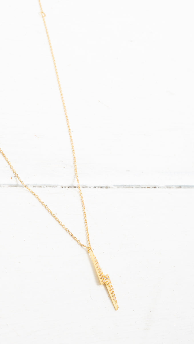 Thunder Necklace - Gold