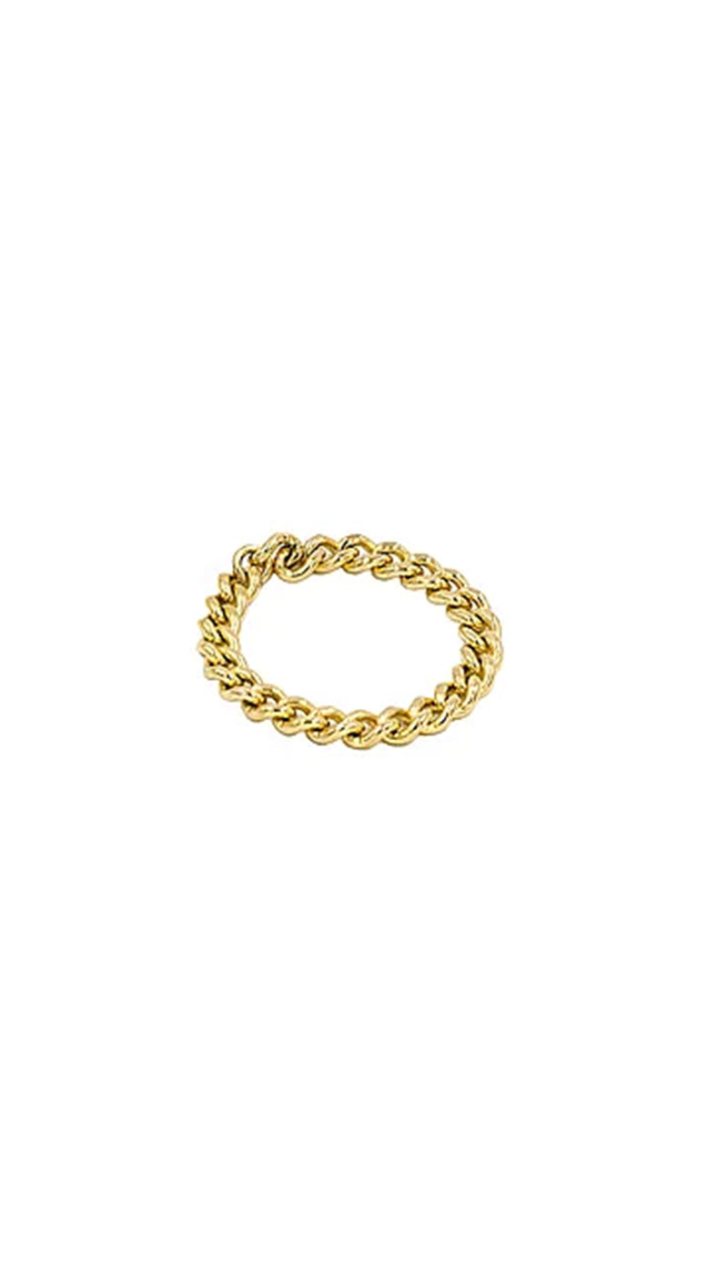 Paradigm Design Gold Fill Chain Ring