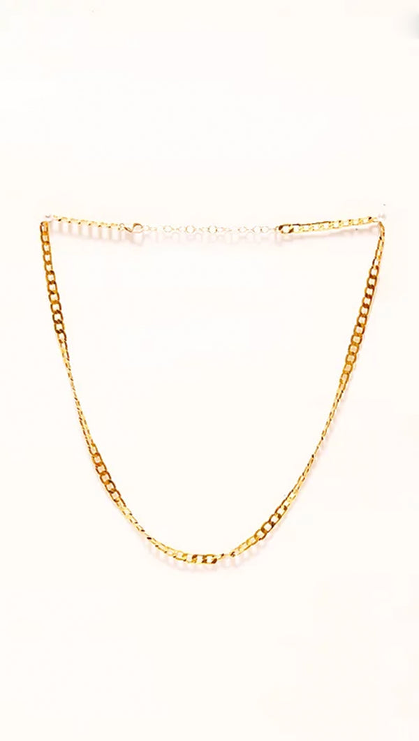 Paradigm Design Gold Fill Chain Necklace