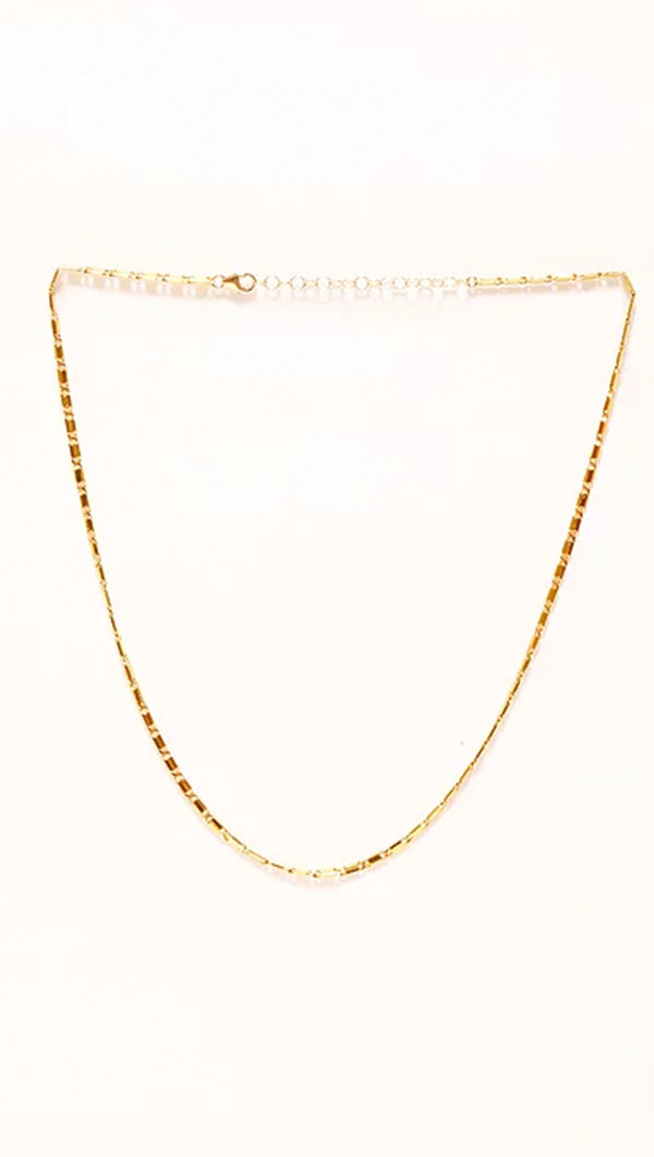 Paradigm Design 17 inch Gold Fill Chain Necklace