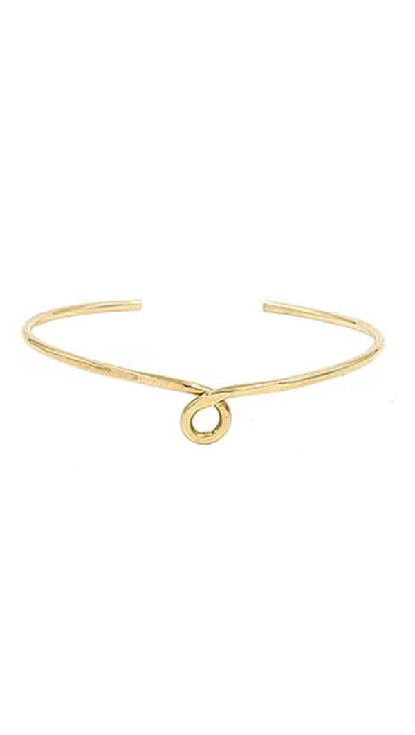 Paradigm Design Gold Fill Loop Cuff Bracelet