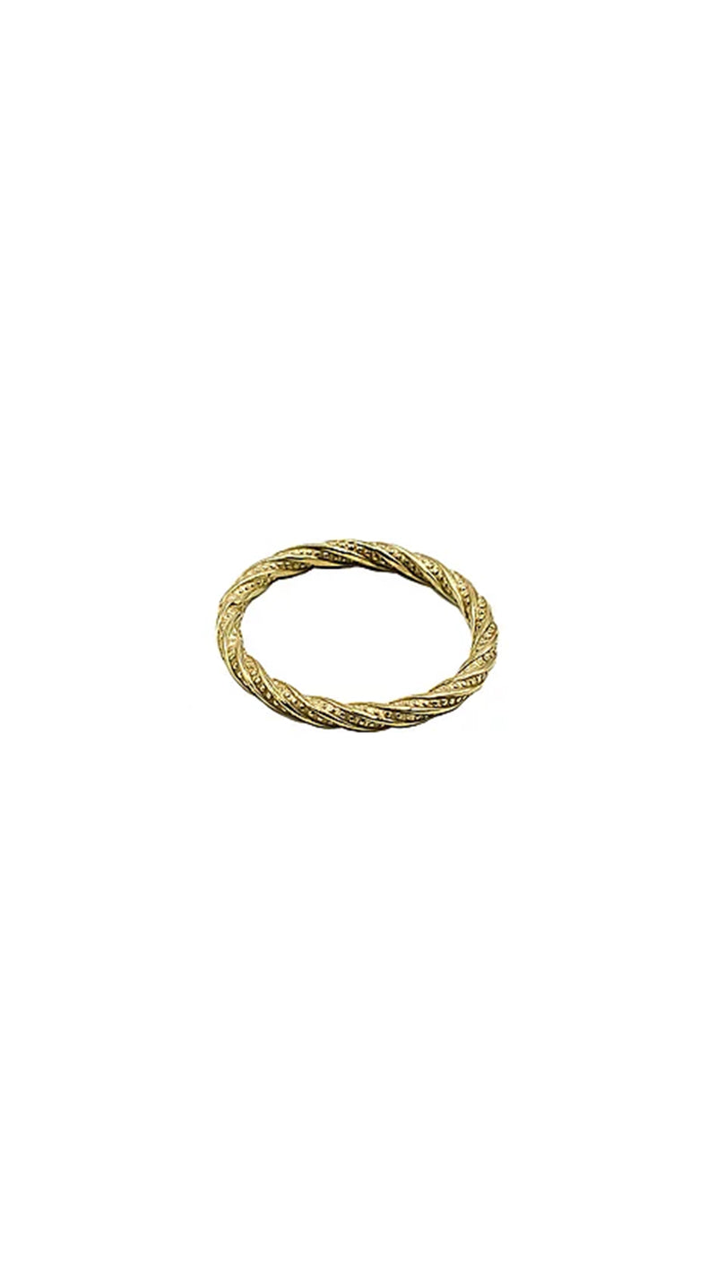 Paradigm Design gold rope ring