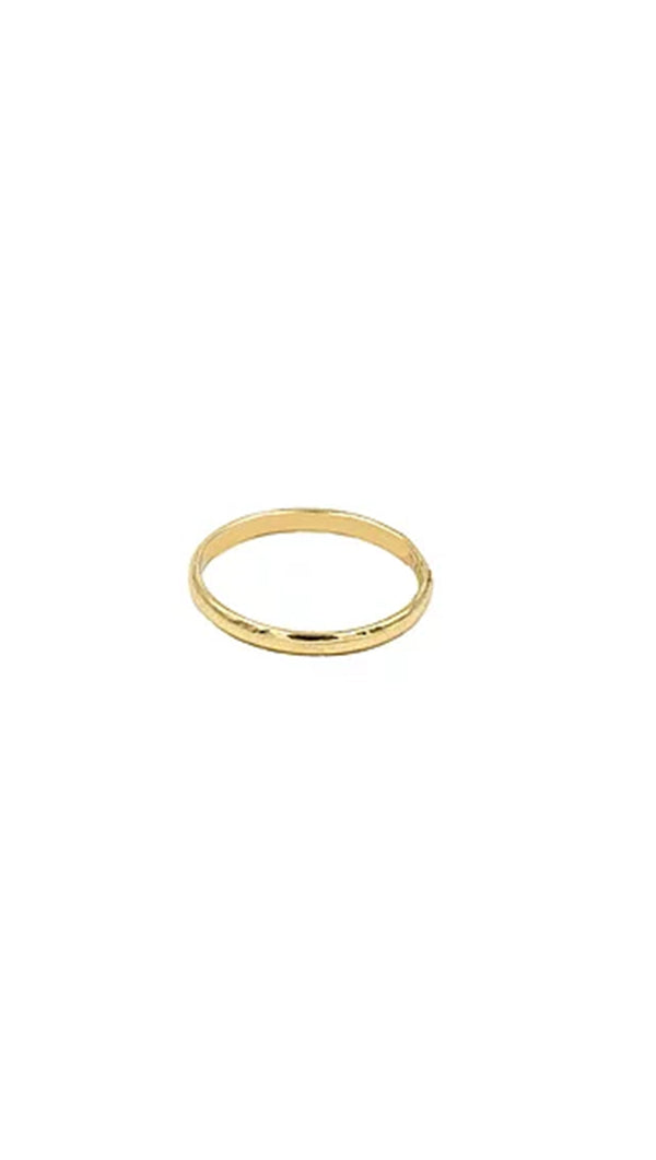 Paradigm Design Gold Fill Plain Band Ring