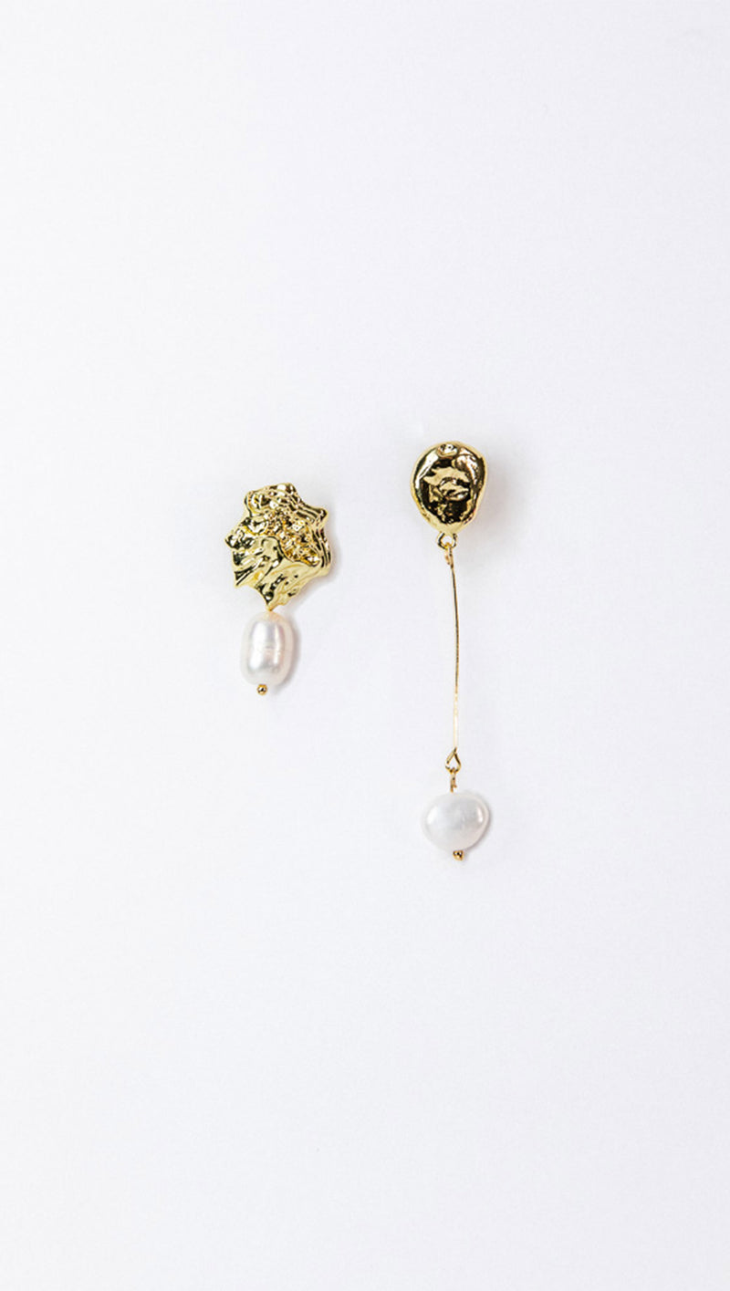 Petit Moments Asymmetrical Earrings