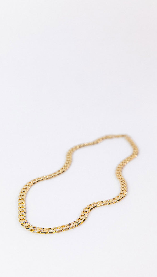 Petit Moments Gold Plated Chain Necklace