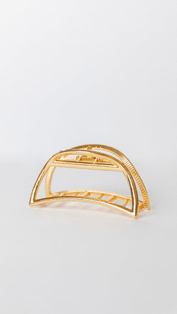 Petit moment Gold Half Moon Hair Clip