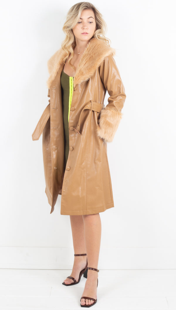 Solange Trench - Camel