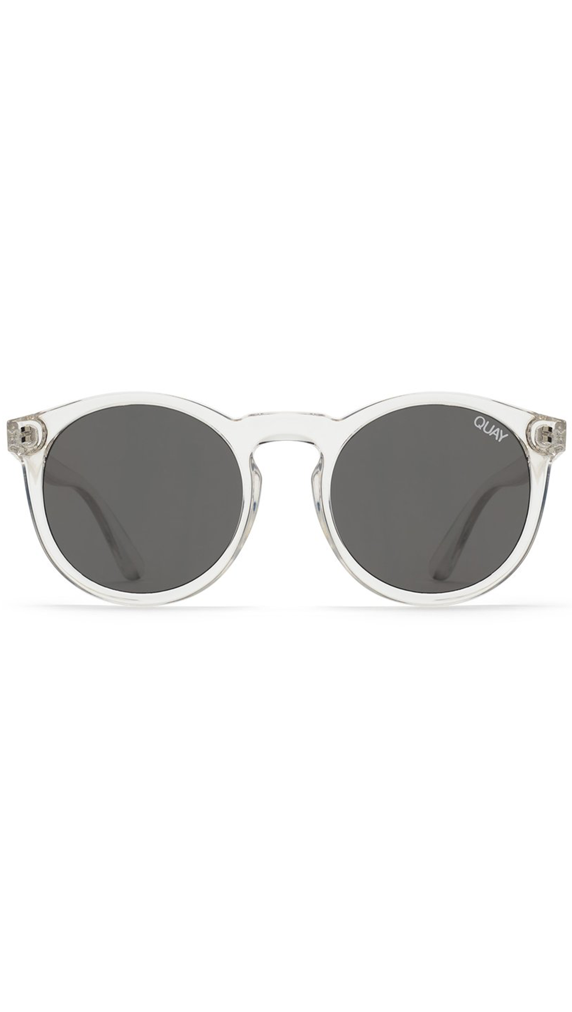 Quay Clear Frame Sunglasses