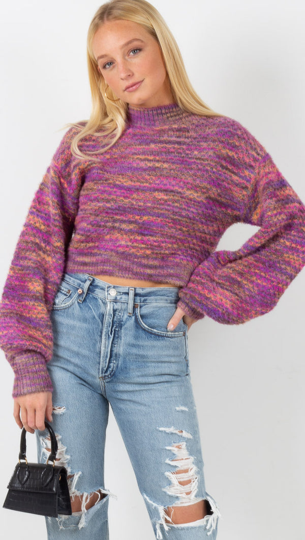 Kara Sweater - Magenta