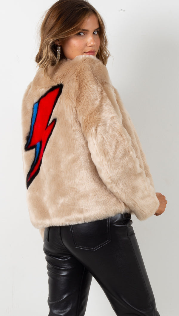 Flash Jacket - Beige