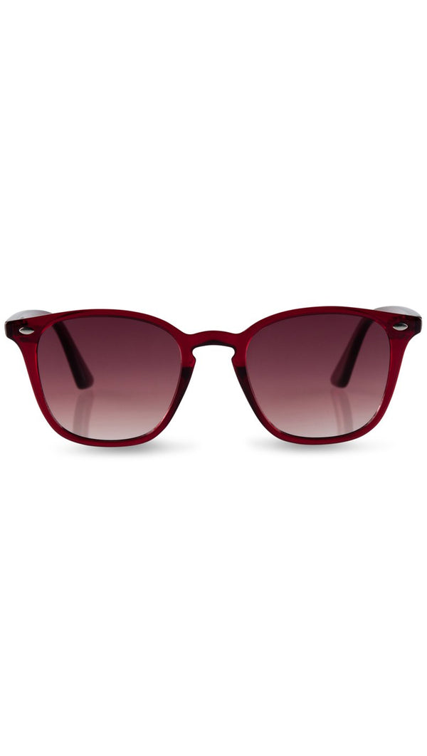 Reality Eyewear Deep Red Sunglasses