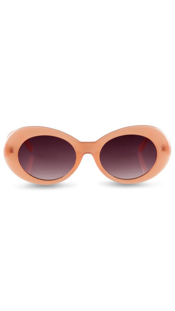 Reality Eyewear Dusty Pink Round Sunglasses