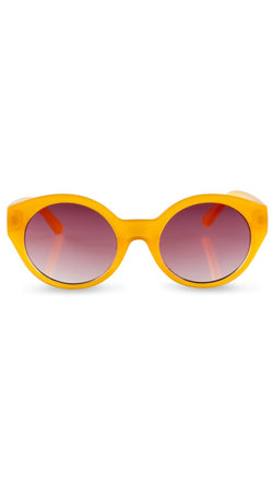 Reality Eyewear Mustard Colored Sunglasses