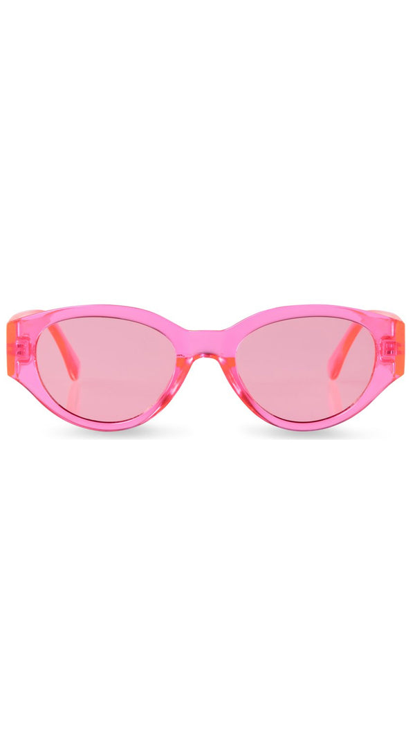 Reality Eyewear Electric Pink Oval Shaped Sunglasses