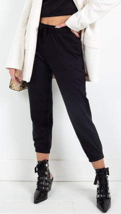 Richer Poorer multi fleece cropped sweatpants