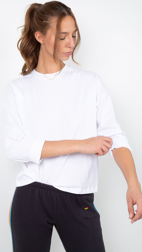Long Sleeve Standard Tee - White