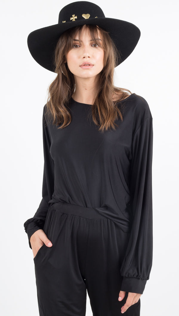 Lounge Shirt - Black
