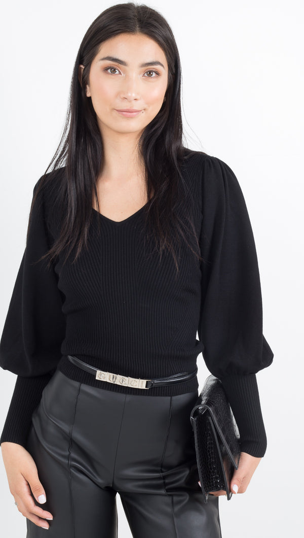 Tegan Top - Black