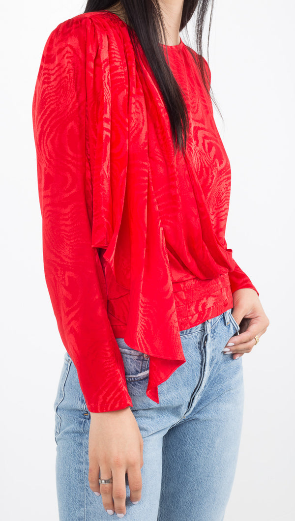 Monet Top - Red