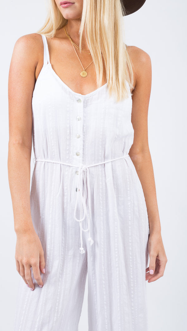 Marisa Jumpsuit - White