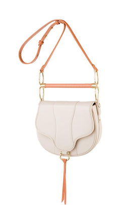Sancia Cream Leather Bag