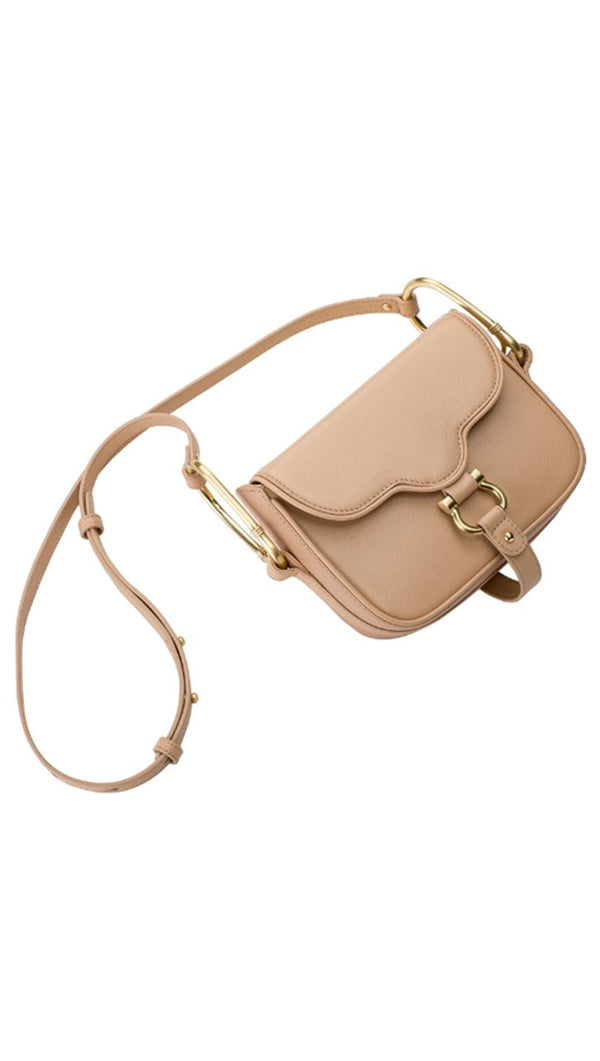 The Gigi Mini Bag - Nude
